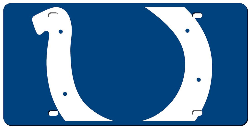 Indianapolis Colts License Plate - Acrylic Mega Style