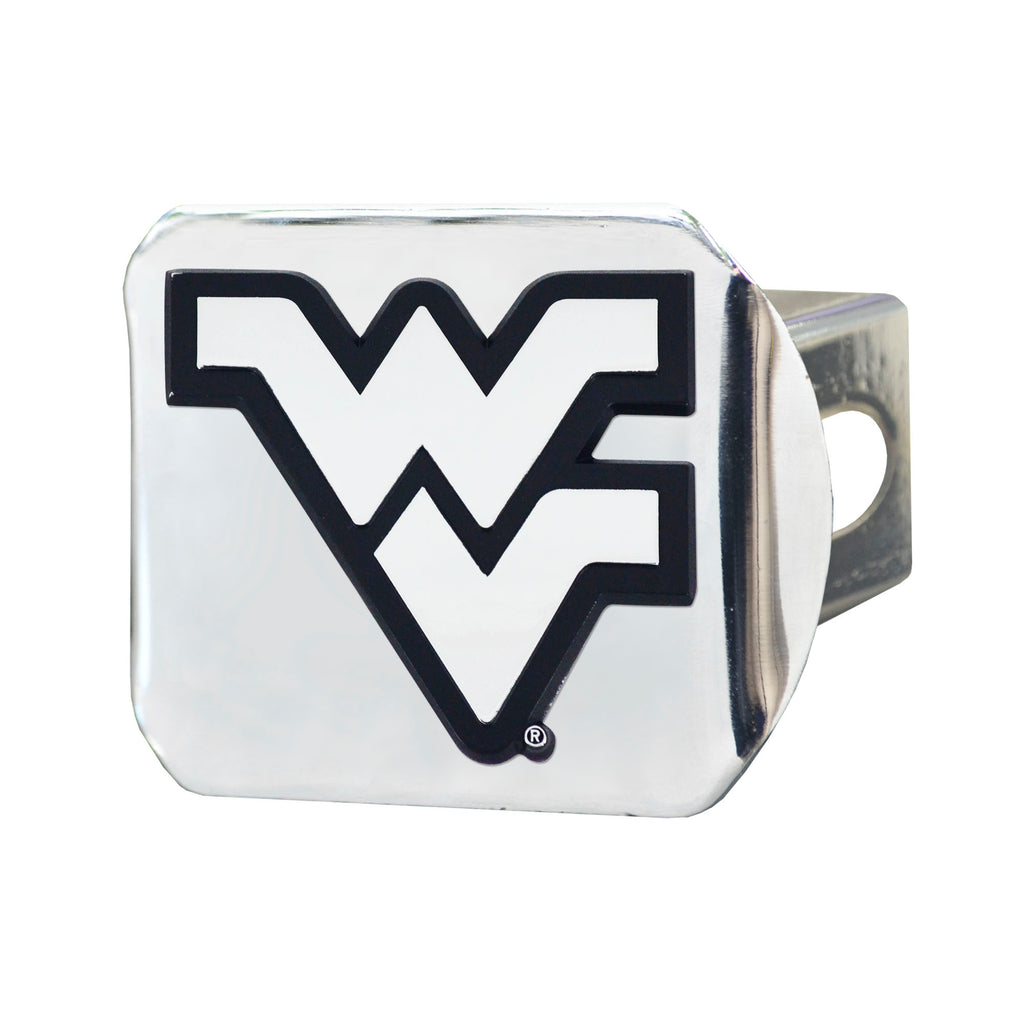 "West Virginia University Chrome Hitch - Chrome 3.4""x4"""