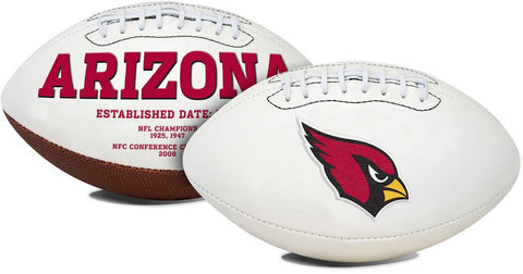 Arizona Cardinals Football Full Size Embroidered Signature Series