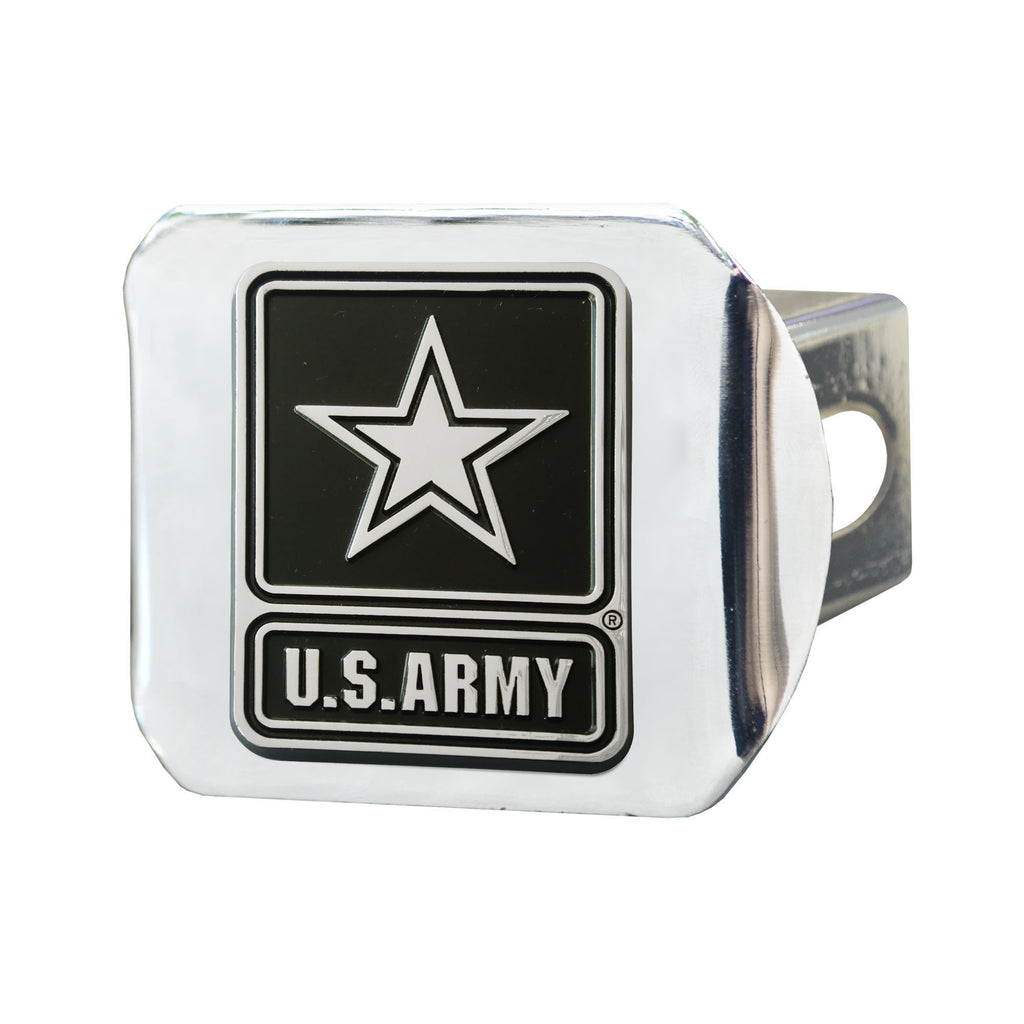 "U.S. Army Chrome Hitch - Chrome 3.4""x4"""