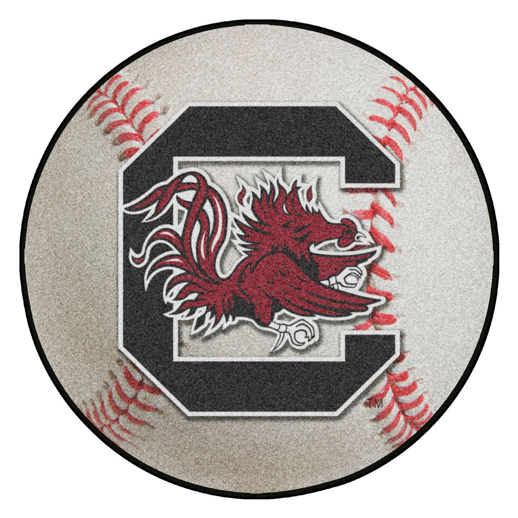 "University of South Carolina Baseball Mat 27"" diameter"