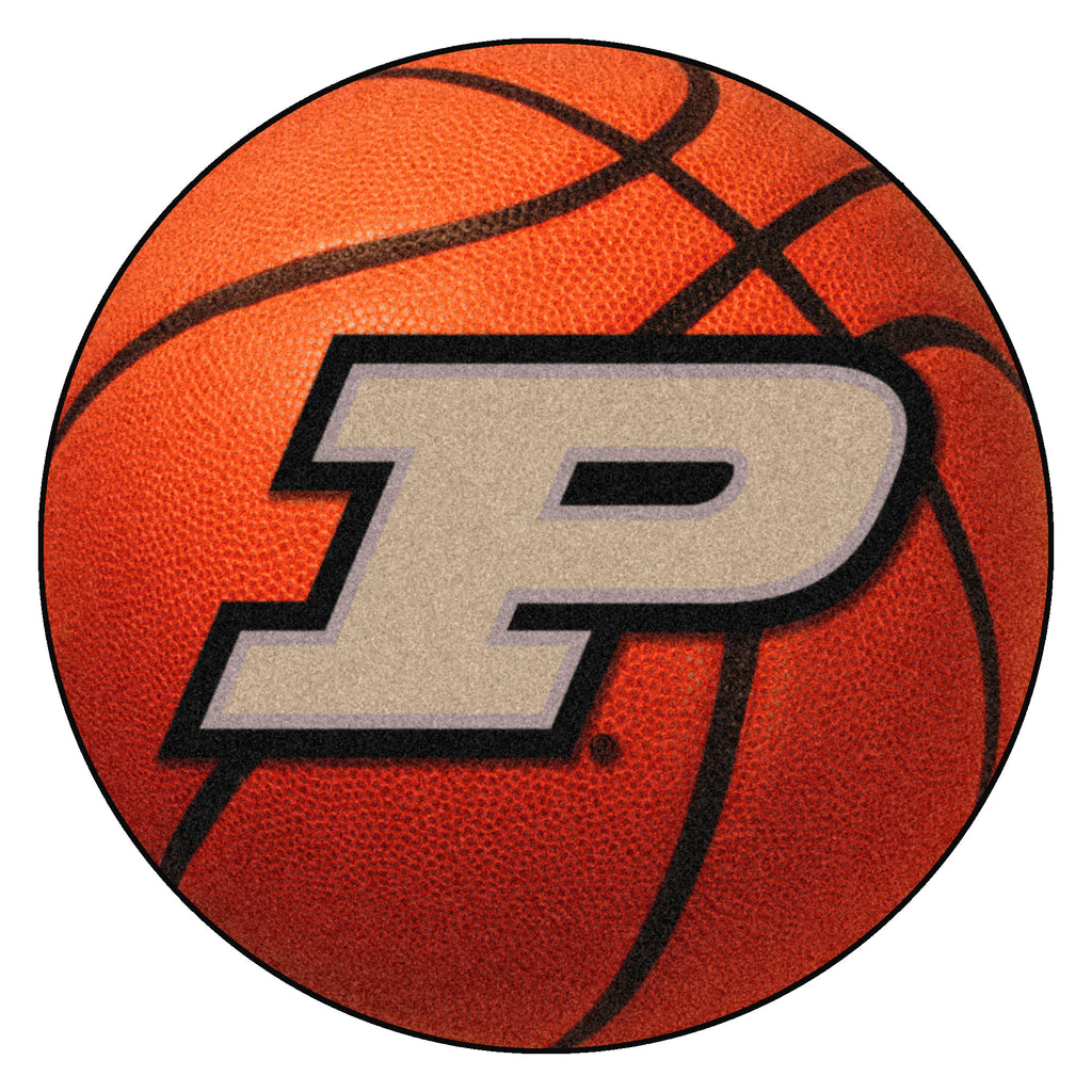 "Purdue University Basketball Mat 27"" diameter"