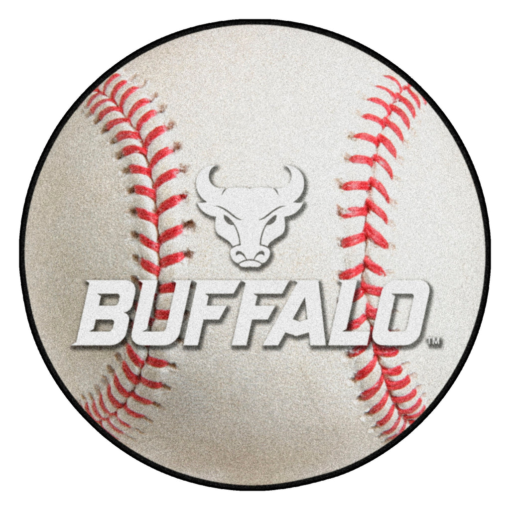 "State University of New York at Buffalo Baseball Mat 27"" diameter"