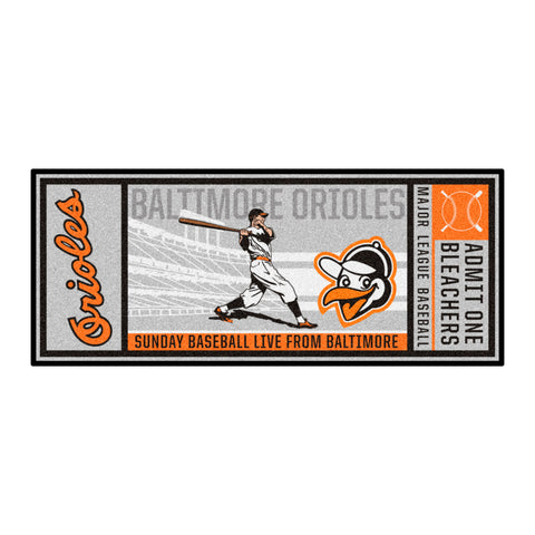 Retro Collection - 1954 Baltimore Orioles Ticket Runner