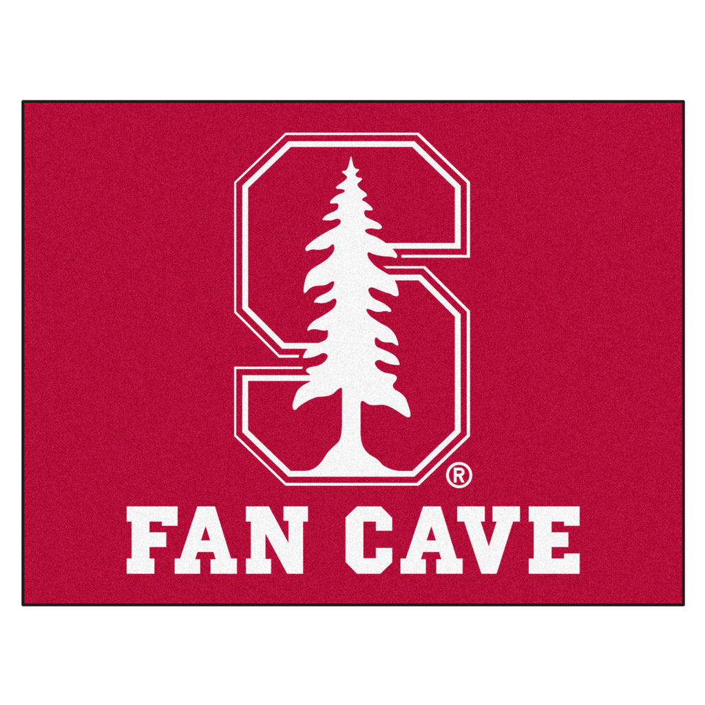 "Stanford University Fan Cave All-Star 33.75""x42.5"""