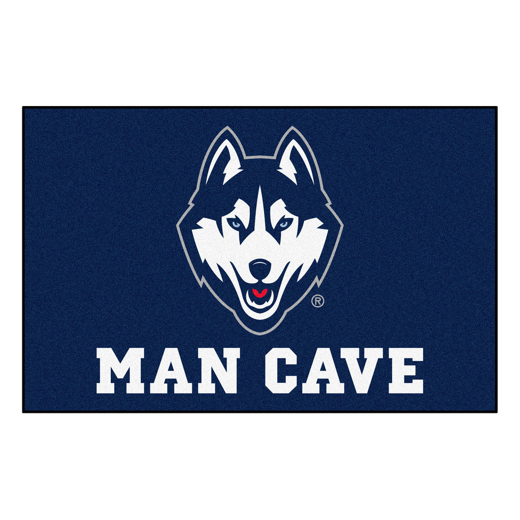 "University of Connecticut Man Cave Starter 19""x30"""