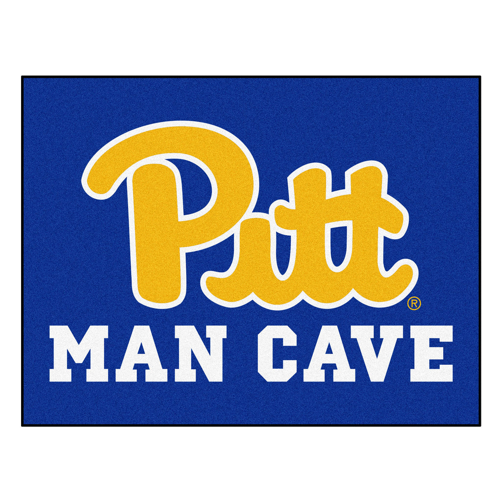 "University of Pittsburgh Man Cave All-Star 33.75""x42.5"""