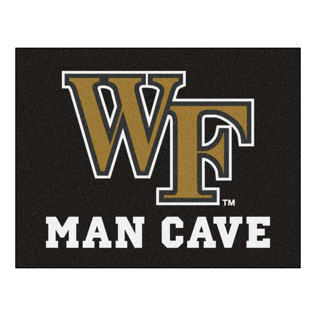 "Wake Forest University Man Cave All-Star 33.75""x42.5"""