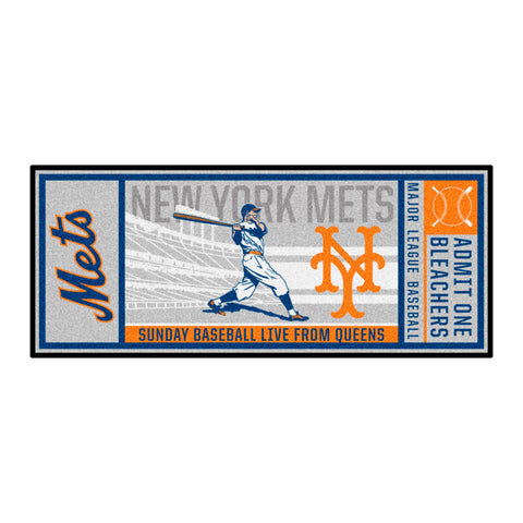 Retro Collection - 2014 New York Mets Ticket Runner