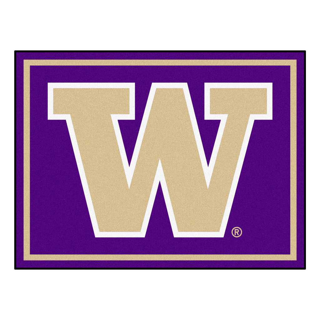 "University of Washington 8x10 Rug 87""x117"""