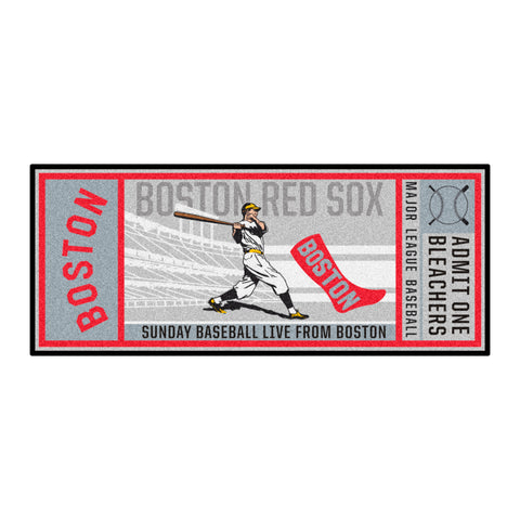 Retro Collection - 1759 Boston Red Sox Ticket Runner
