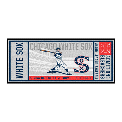 Retro Collection - 1917 Chicago White Sox Ticket Runner