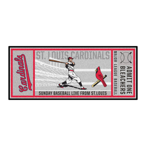Retro Collection - 1930 St. Louis Cardinals Ticket Runner