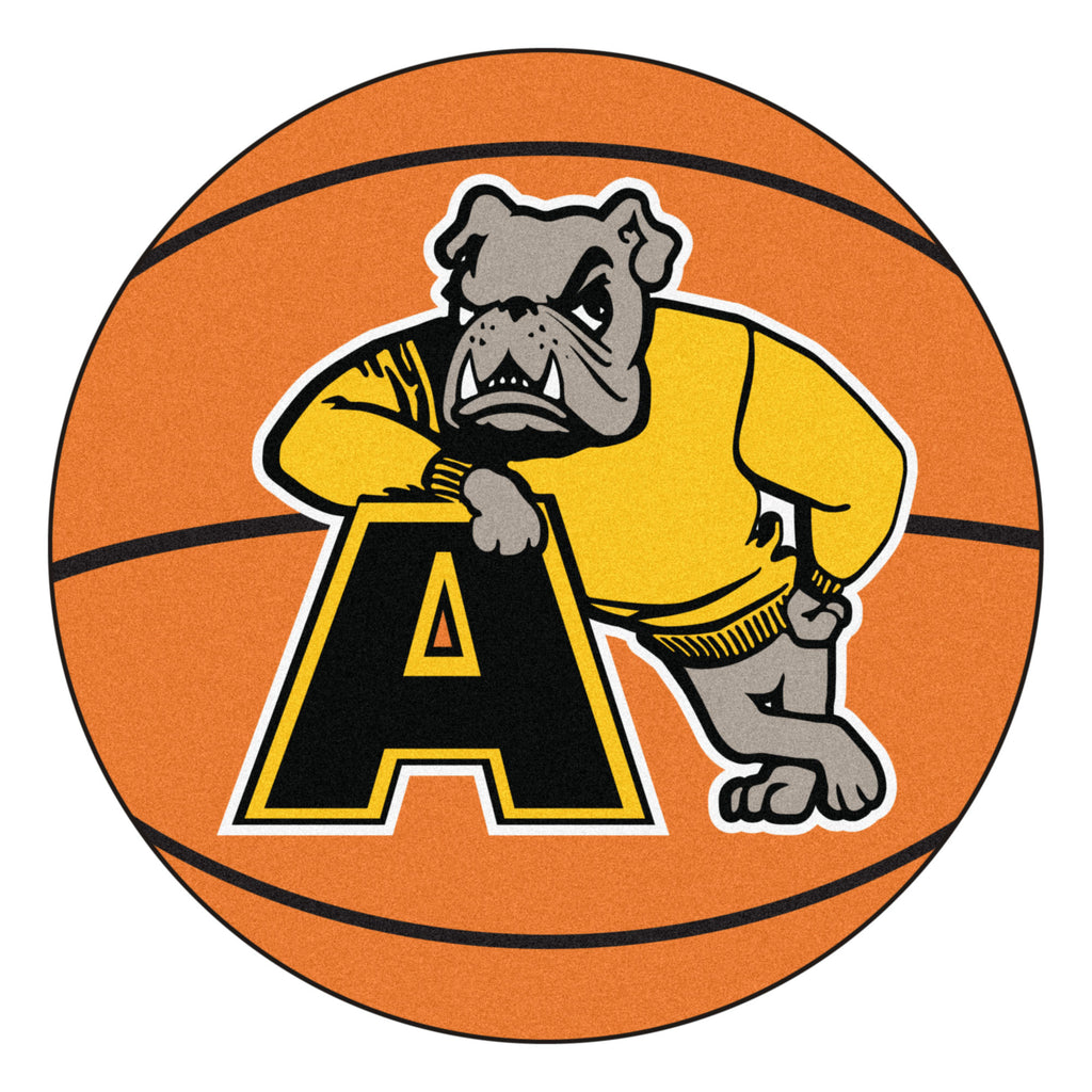 "Adrian College Basketball Mat 27"" diameter"