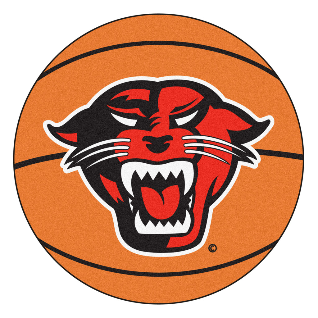 "Davenport University Basketball Mat 27"" diameter"