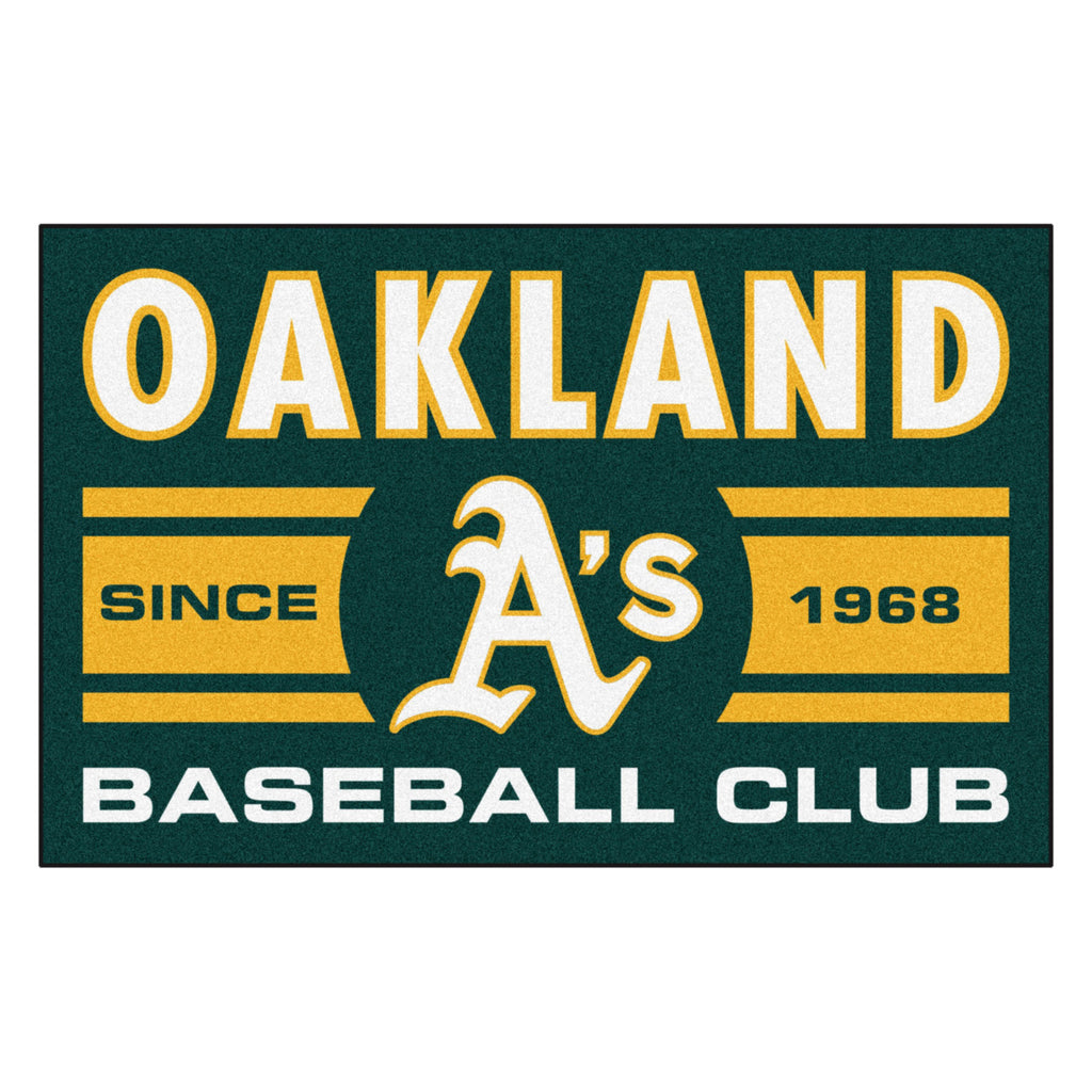 "MLB - Oakland Athletics Starter Mat 19""x30"""