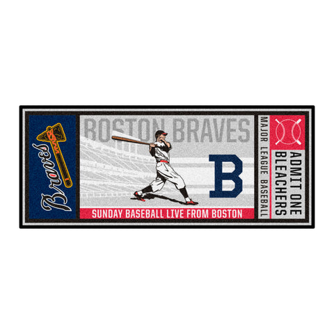 Retro Collection - 1946 Boston Braves Ticket Runner