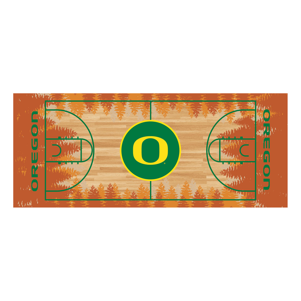 "University of Oregon NCAA Basketball Runner 30""x72"""