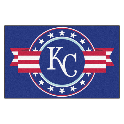 "MLB - Kansas City Royals Starter Mat - MLB Patriotic 19""x30"""