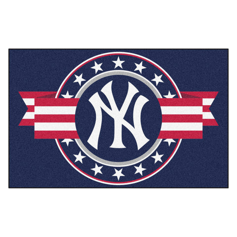 "MLB - New York Yankees Starter Mat - MLB Patriotic 19""x30"""