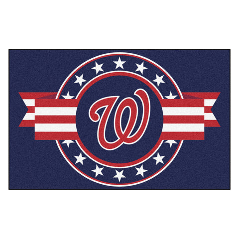 "MLB - Washington Nationals Starter Mat - MLB Patriotic 19""x30"""