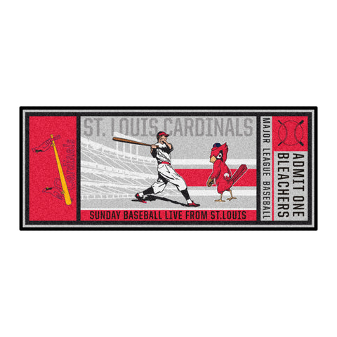 Retro Collection - 1950 St. Louis Cardinals Ticket Runner