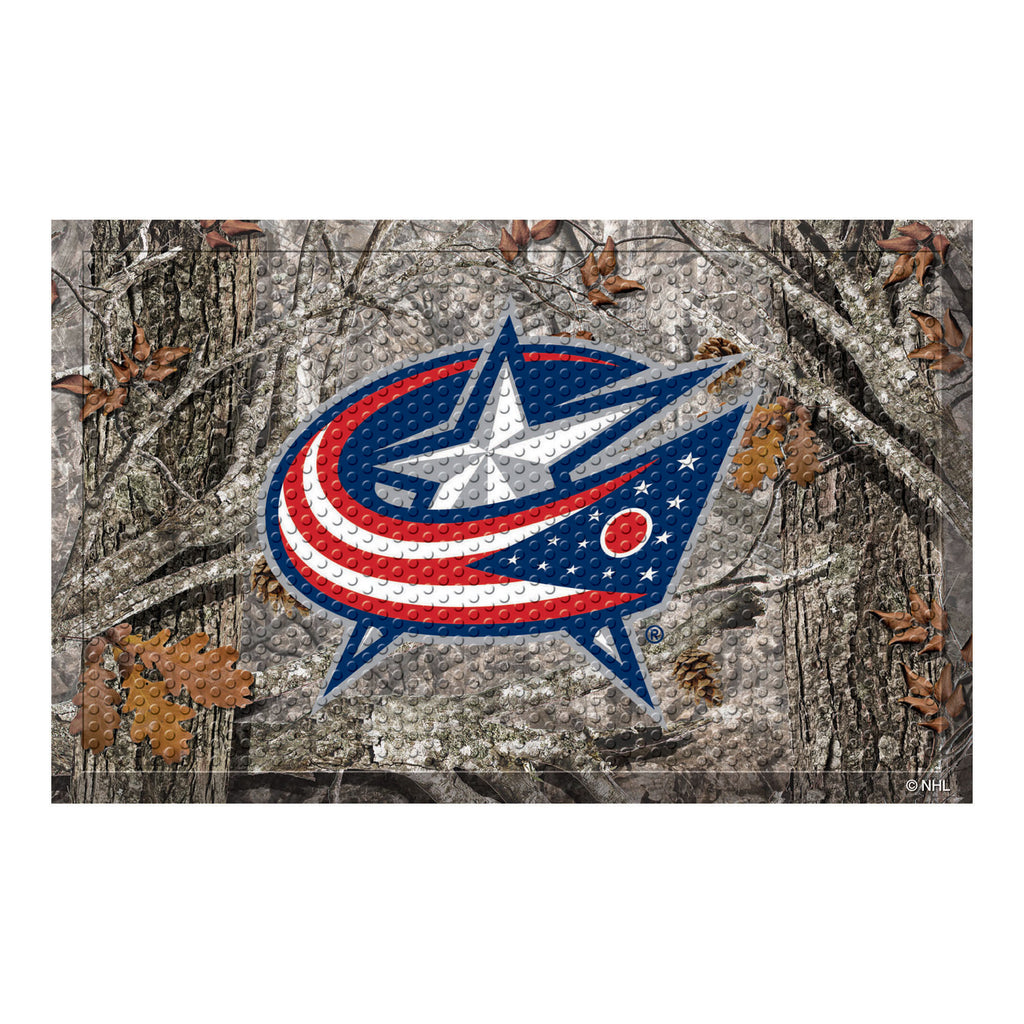"NHL - Columbus Blue Jackets Scraper Mat 19""x30"""