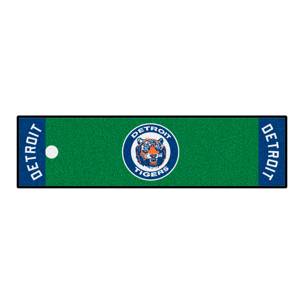 Retro Collection - 1964 Detroit Tigers Putting Green Mat