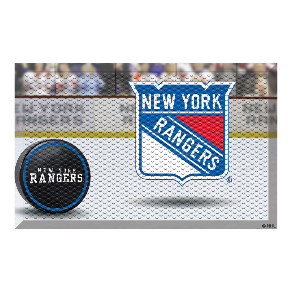 "NHL - New York Rangers Scraper Mat 19""x30"""