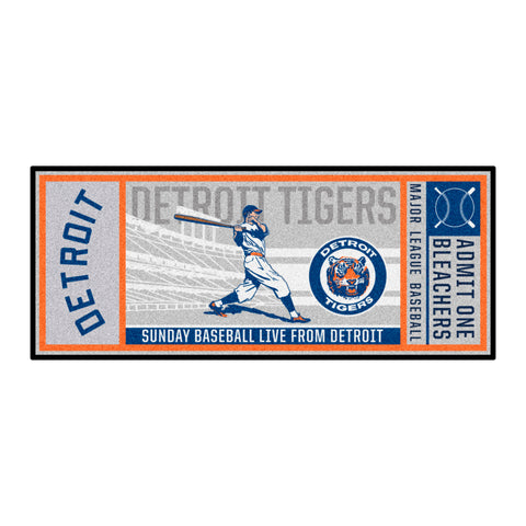 Retro Collection - 1964 Detroit Tigers Ticket Runner