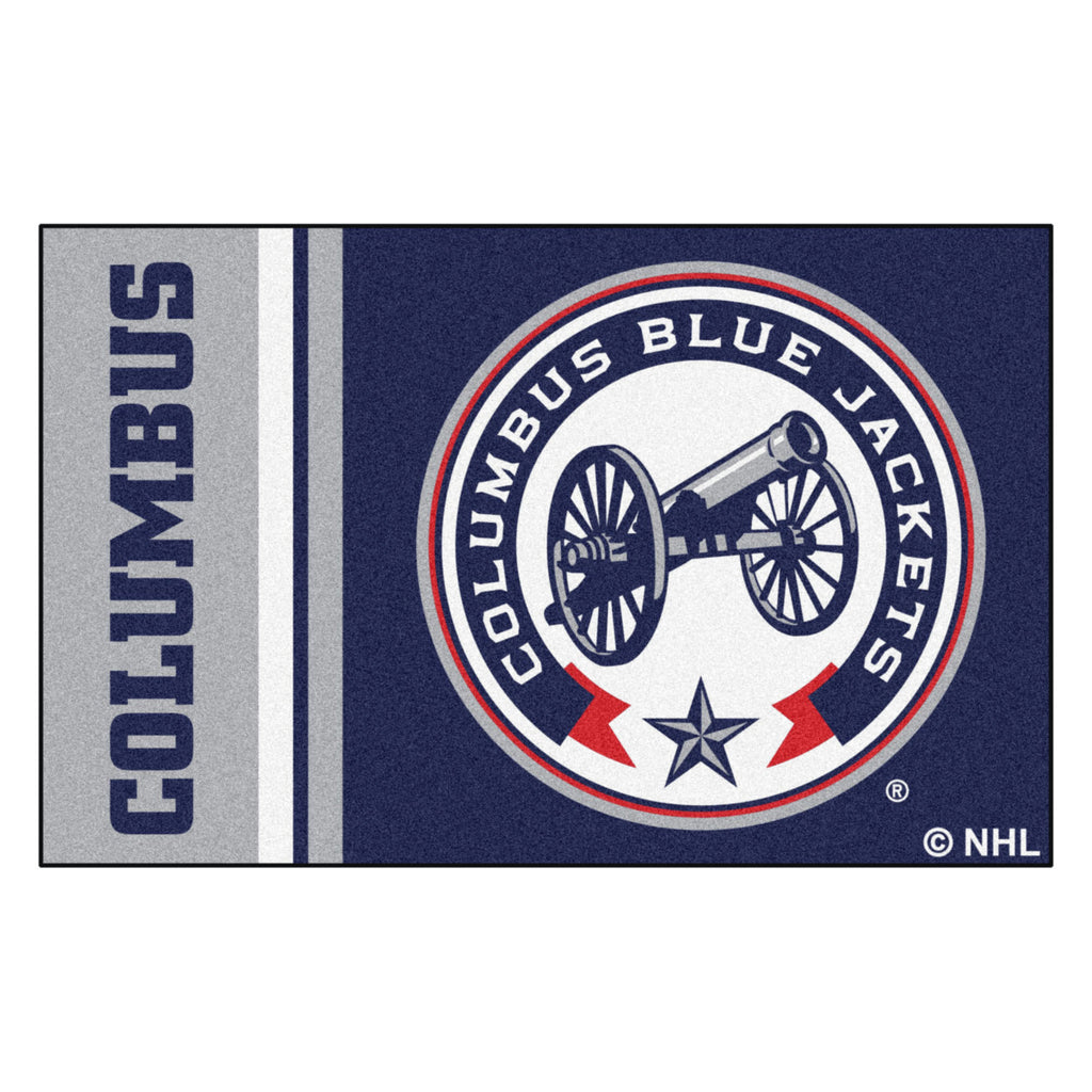 "NHL - Columbus Blue Jackets Starter Mat 19""x30"""