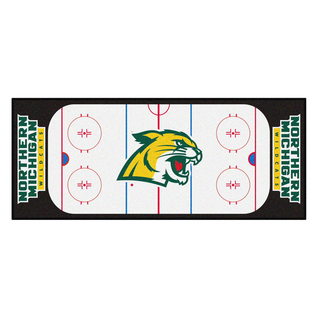 "Northern Michigan University Rink Runner 30""x72"""