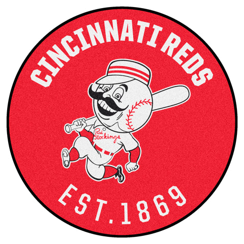 Retro Collection - 1967 Cincinatti Reds Roundel Mat