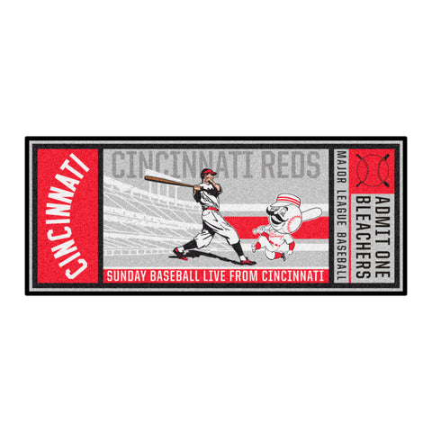 Retro Collection - 1967 Cincinatti Reds Ticket Runner