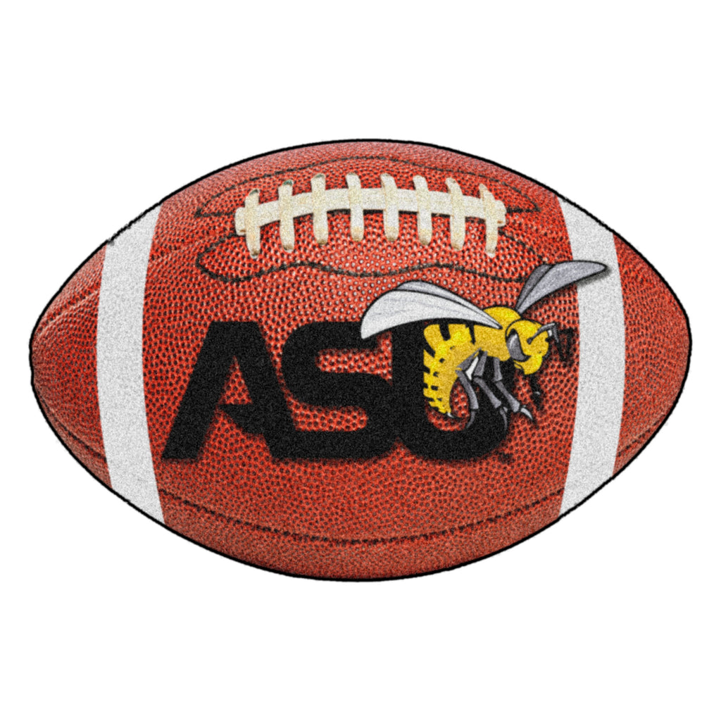 "Alabama State University Football Mat 20.5""x32.5"""