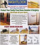 Nightlock Door Lock (Residential & Business)