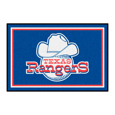 Retro Collection - 1972 Texas Rangers 4x6 Rug