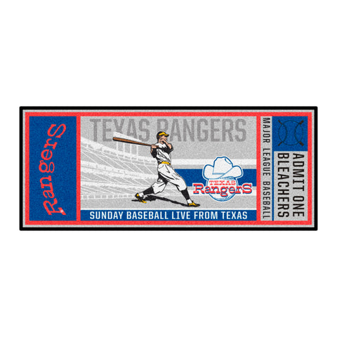 Retro Collection - 1972 Texas Rangers Ticket Runner