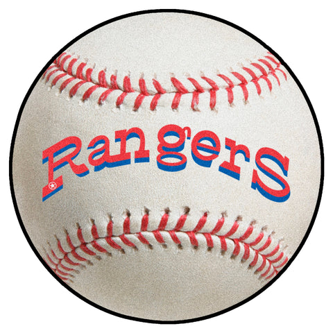 Retro Collection - 1972 Texas Rangers Baseball Mat