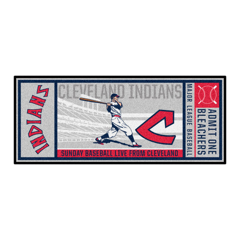 Retro Collection - 1973 Cleveland Indians Ticket Runner
