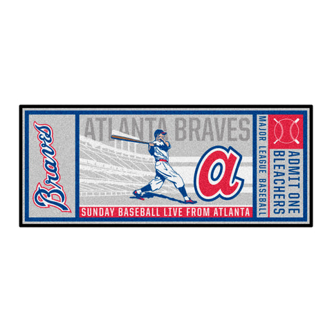 Retro Collection - 1974 Atlanta Braves Ticket Runner