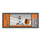 Retro Collection - 1975 Baltimore Orioles Ticket Runner