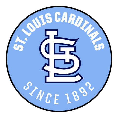 Retro Collection - 1976 St. Louis Cardinals Roundel Mat