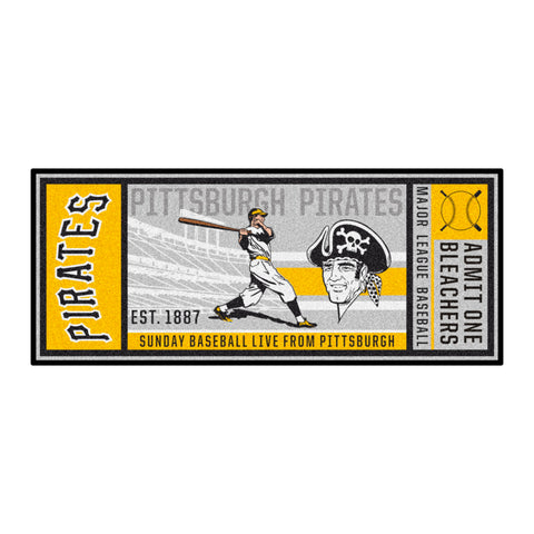 Retro Collection - 1977 Pittsburgh Pirates Ticket Runner