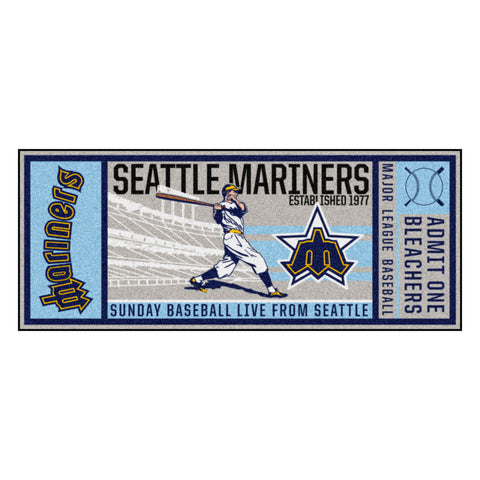 Retro Collection - 1981 Seattle Mariners Ticket Runner