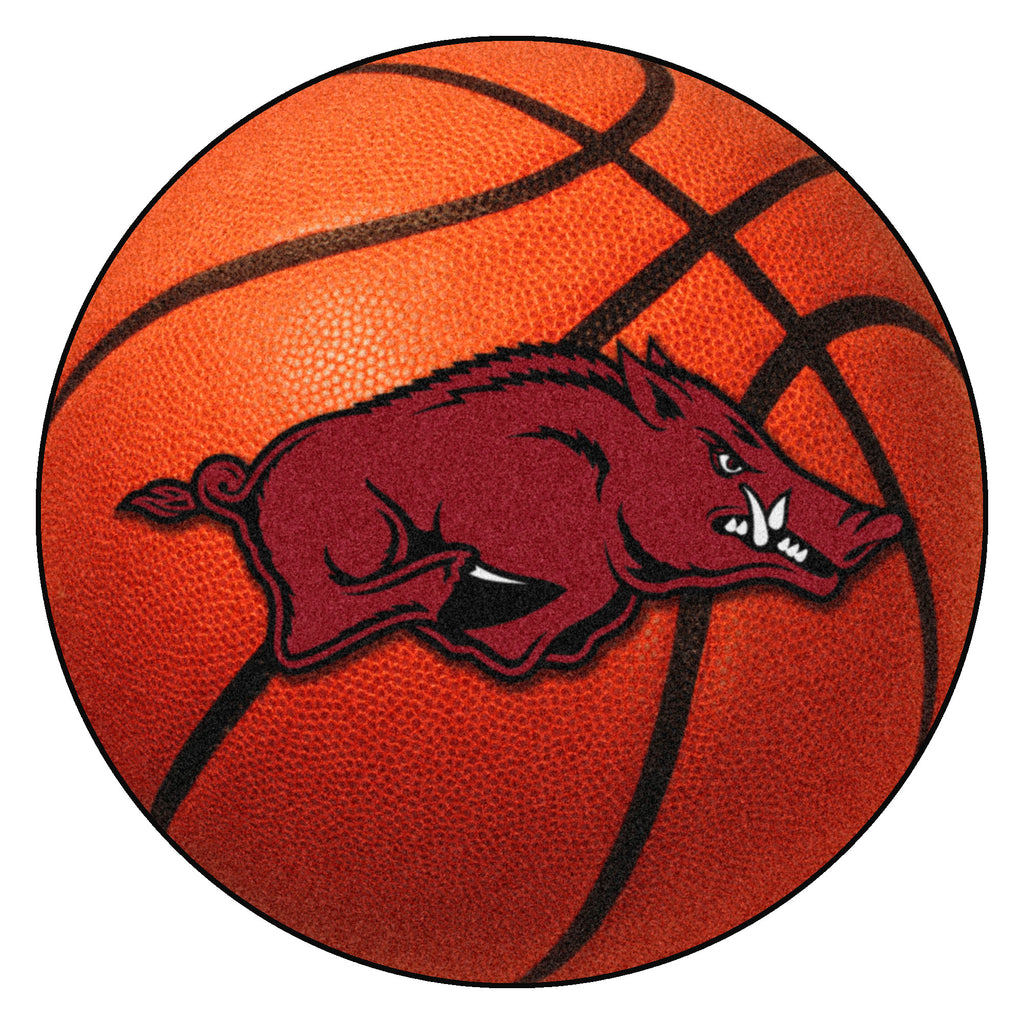 "University of Arkansas Basketball Mat 27"" diameter"