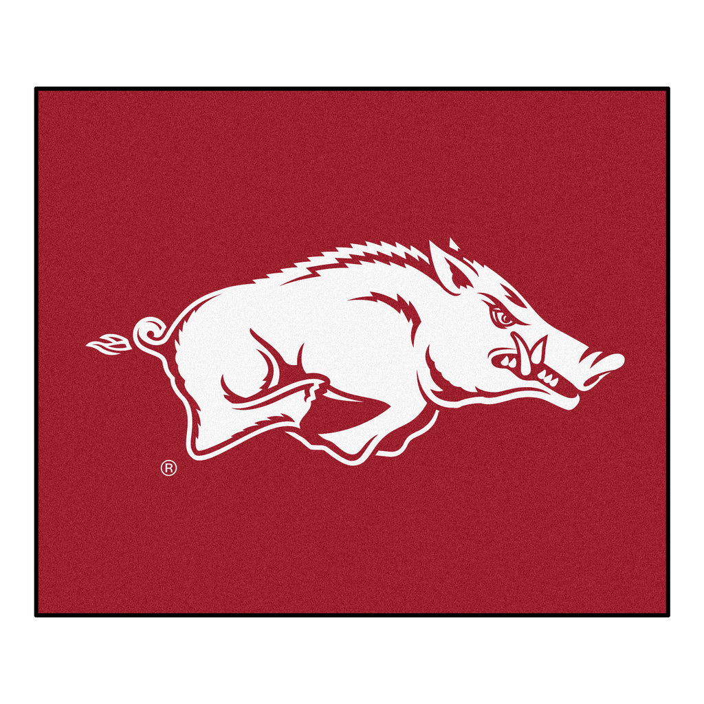 "University of Arkansas Tailgater Mat 59.5""x71"""