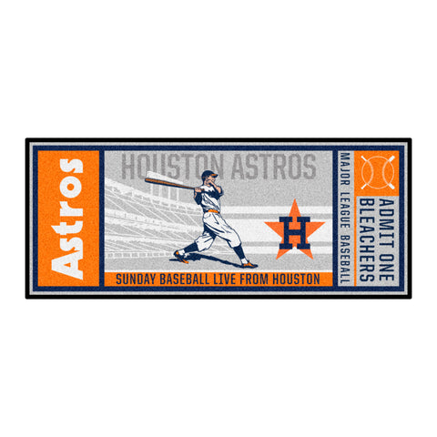 Retro Collection - 1984 Houston Astros Ticket Runner