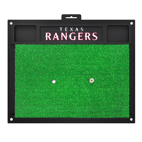 "MLB - Texas Rangers Golf Hitting Mat 20"" x 17"""