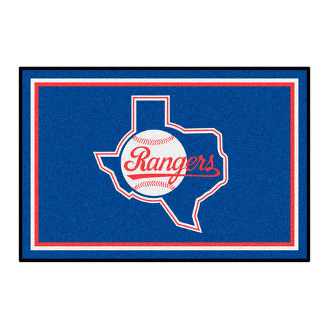 Retro Collection - 1984 Texas Rangers 4x6 Rug
